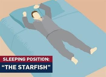 Starfish-sleeping-position