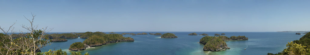 Hundred Island Panorama