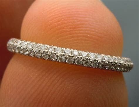 25  best ideas about Pave Wedding Bands on Pinterest
