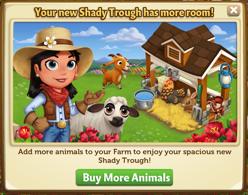 Deluxe Shady Trough - FarmVille 2