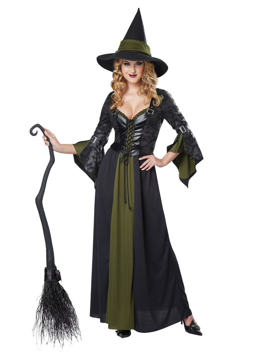 adult classic witch costume  01350  fancy dress ball