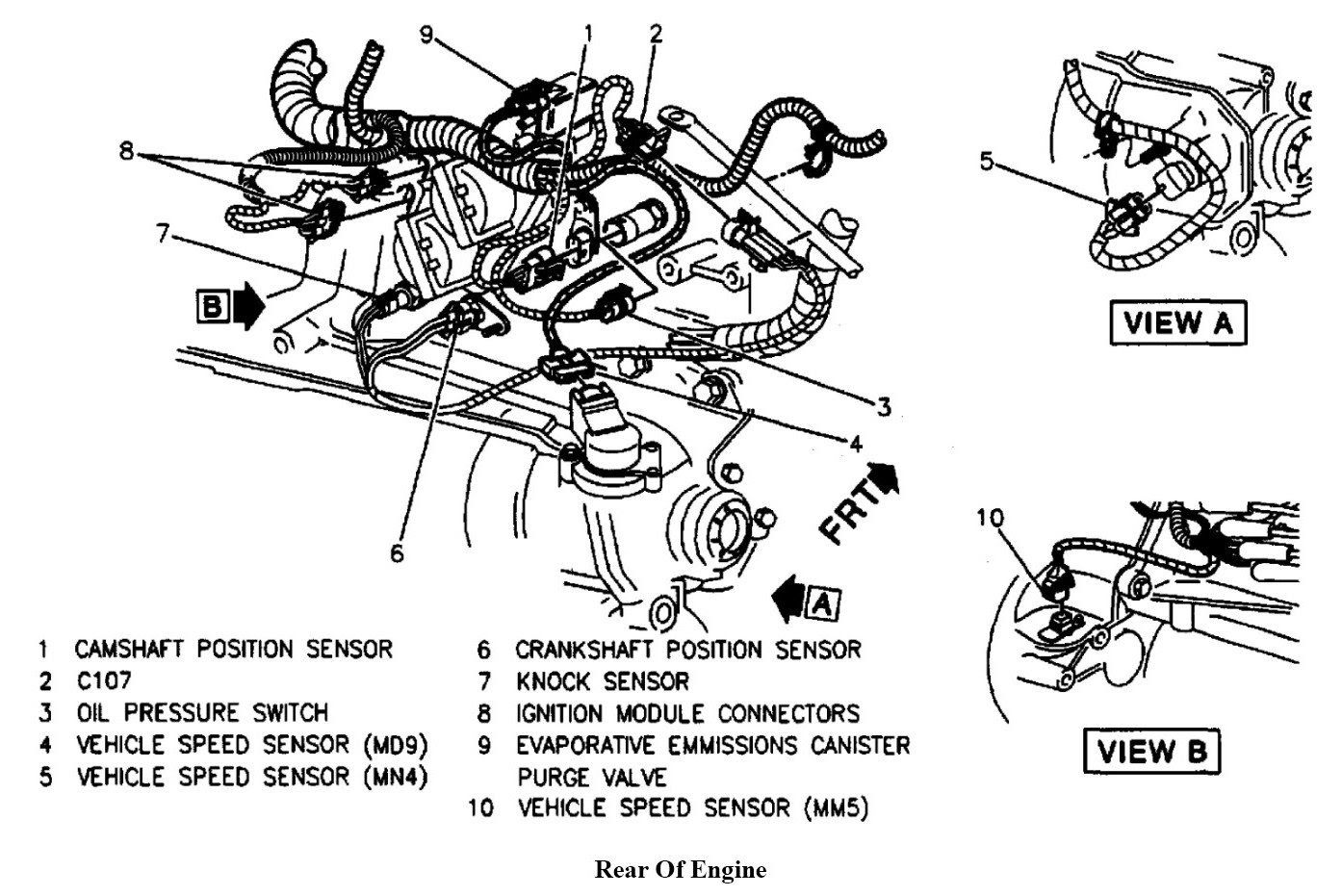 1997 Chevy Cavalier Engine Diagram 2 4 - Best Place to ...