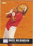 David Nalbandian Tennis Card