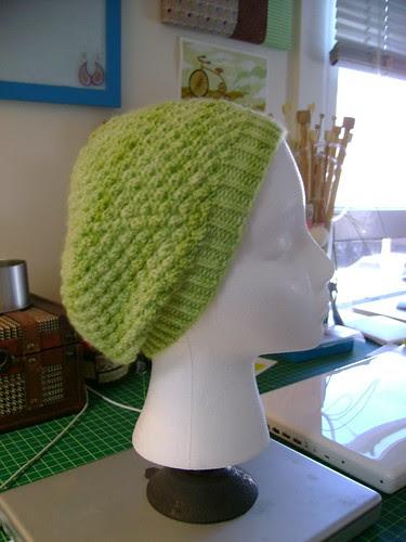 trinity stitch hat