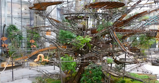 A Project Aims to Create the World's Largest Hanging Garden Since Babylon Within the Branches of a 114-Foot Tree
