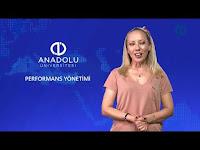 PERFORMANS YÖNETİMİ - Ünite 4 Konu Anlatımı 1 - Açıköğretim Sistemi - Anadolu Üniversitesi