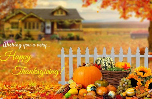 Warm Wishes On Thanksgiving.