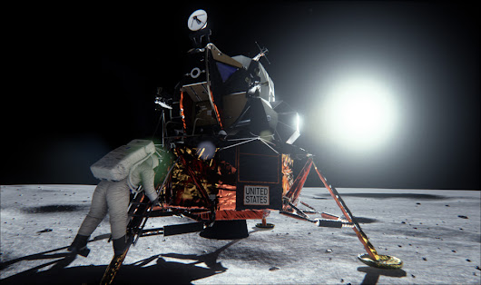 NVIDIA's new GPU proves moon landing truthers wrong
