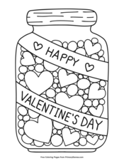 valentine's day coloring pages  printable coloring ebook  primarygames