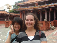 me and yuka at Confuican Temple