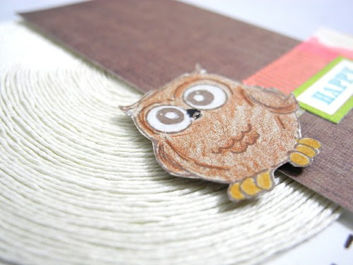 Happy owl (detail)