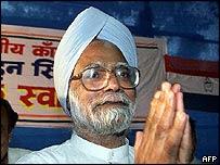 Manmohan Singh verðandi forsætisráðherra Indlands