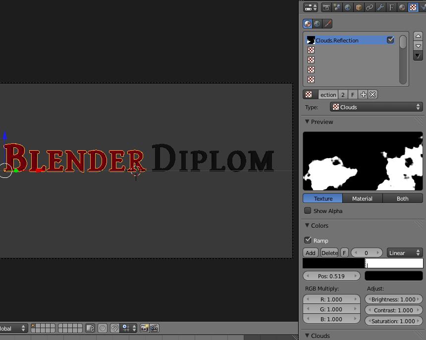 blender текстура