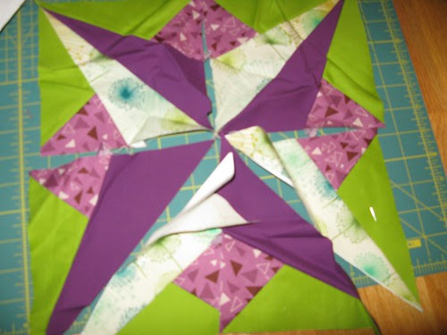 paper piecing star