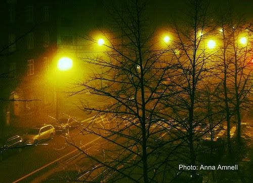 Fog in Helsinki by Anna Amnell