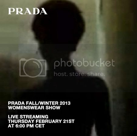 PRADA Women Fall Winter 2013/14 show