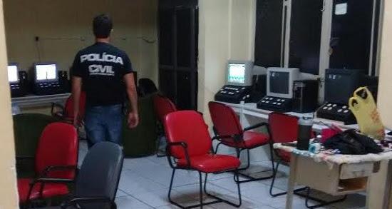 Polícia Civil apreende máquinas de bingo em Natal