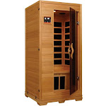 Golden Designs 1-2 Person Low EMF Far Infrared Sauna GDI-6109-01