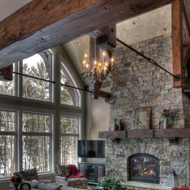 Warm Rustic Living Room Ideas: 15 Warm & Cozy Rustic Living Room Designs For A Cozy