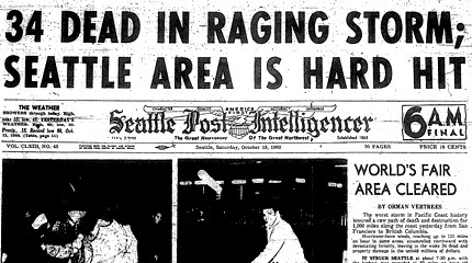 Worker recalls 1962 Columbus Day storm at the Needle