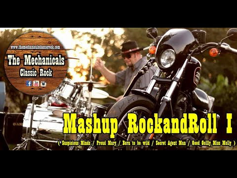 Mashup Rock and roll - Suspicius Minds/ Proud Mary/ Born to be Wild - COVER - YouTube
