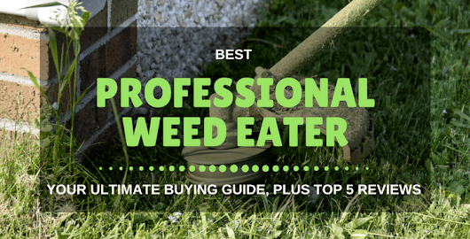 5 Best Professional Weed Eater: Reviews And Buying Guide