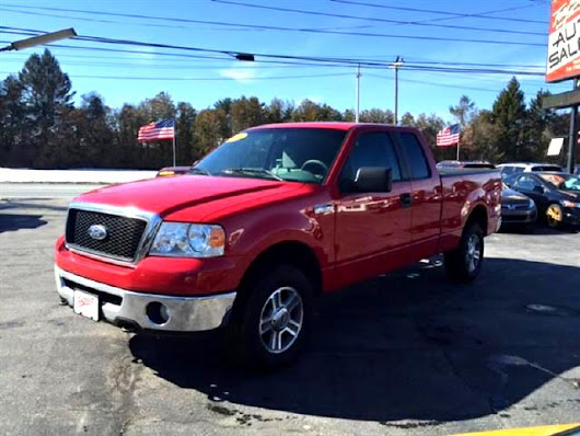 Used 2007 Ford F-150 XLT SuperCab Long Box 4WD for Sale in Salem NH 03079 Toy Store Auto Sales