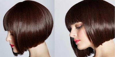 Model Rambut Bob Nungging Untuk Rambut Ikal - Seputar Model