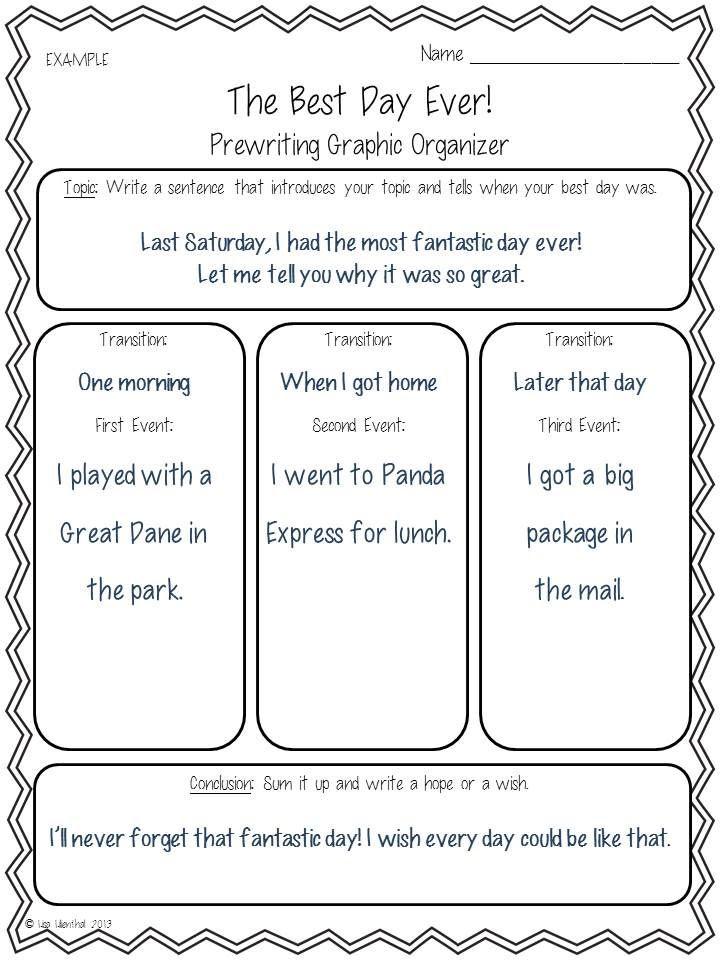how to write a 3rd grade essay