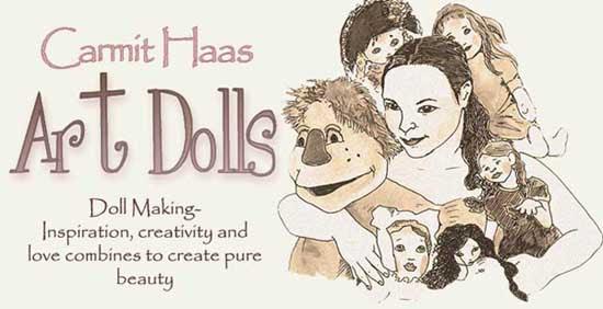 Carmit Haas Doll creations