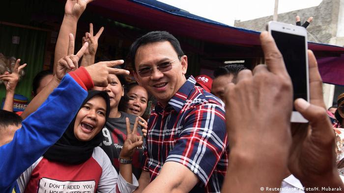 Indonesien Wahlkampf Gouverneur Jakarta (Reuters/Antara Foto/H. Mubarak)