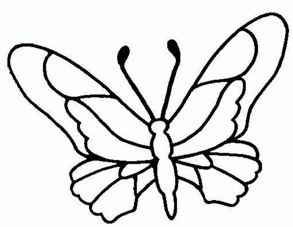 Dibujos De Mariposas Para Imprimir Imágenes Y Fotos