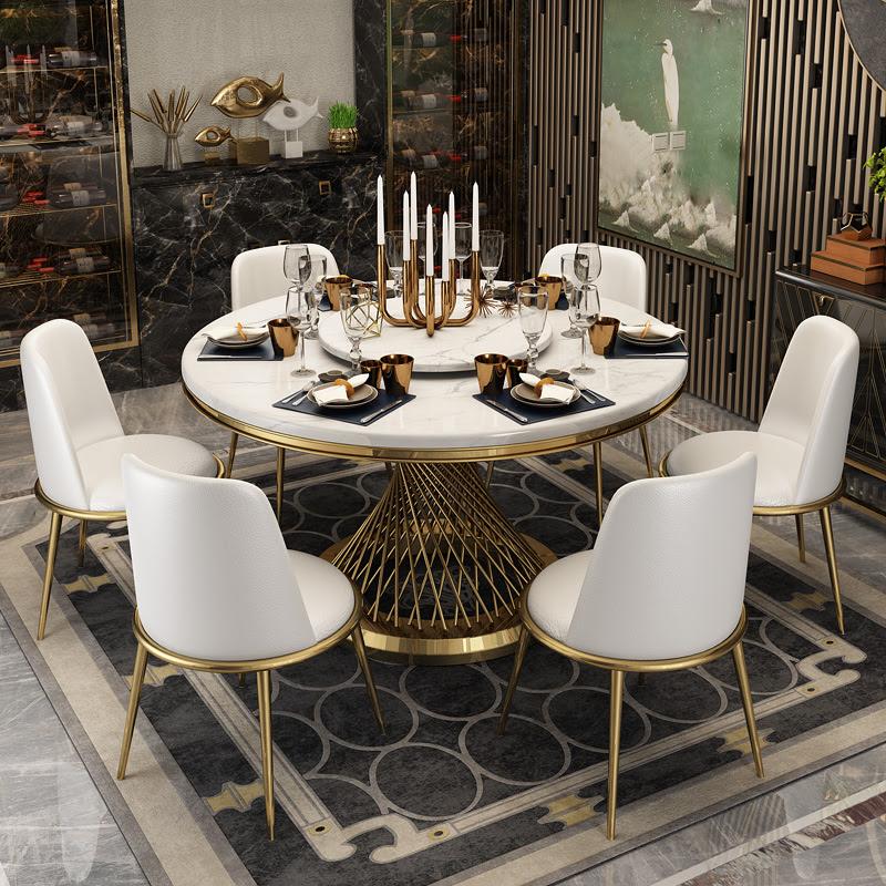Set Meja Makan Marmer Mewah Gaya Modern Perabot Ruang Makan Mewah Buy Set Meja Makan Modern Marmer Meja Makan Set Set Meja Makan Product On Alibaba Com