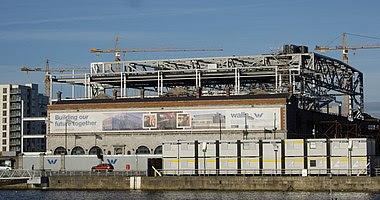 O2 Point Depot under construction