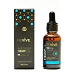 Hemp Oil for Pain & Anxiety Relief | Anti- Inflammatory | Promotes Better Sleep & Boost Energy | Made in USA | 500mg |1fl oz (30ml) (Cool Mint Flavor)