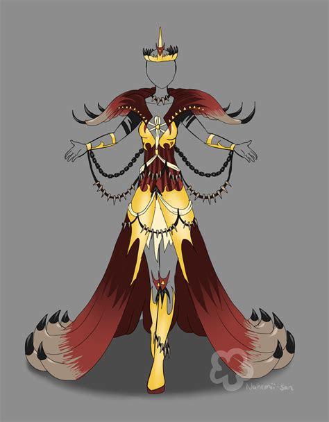 evil queen outfit  sold  nahemii sandeviantartcom