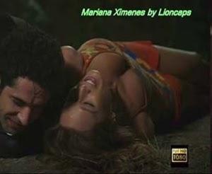 Brasil - Mariana Ximenes com um decote interessante na novela Sassaricano