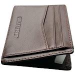 Walleteras RFID Front Pocket Wallet and Card Holder - Otto Burnt Sienna 008 - Open