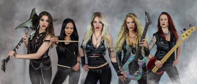BURNING WITCHES Release First Song With New Singer LAURA GULDEMOND