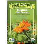 High Mowing Organic Seeds - Organic Mexican Sunflower Seeds - 1 Packet