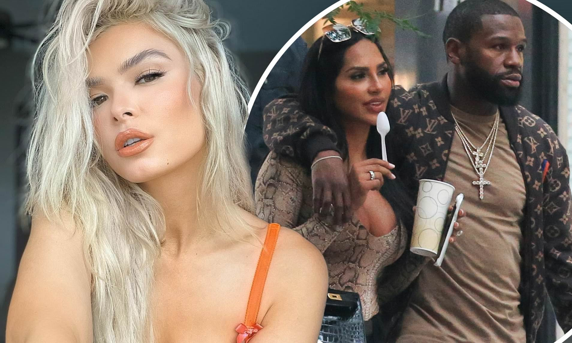 Floyd Mayweather's girlfriend Anna Monroe is 'done' with boxer after snaps with ex Gallienne Nabila
