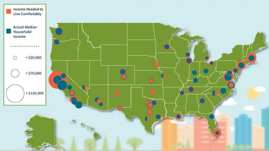 The Income You Need to Live Comfortably in 50 U.S. Cities
