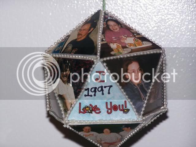1997 photo ornament