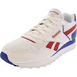 Reebok Men's Cl Harman Run White / Excellent Red Dark Royal Ankle-High Running