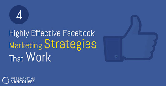4 Highly Effective Facebook Marketing Strategies That Work |