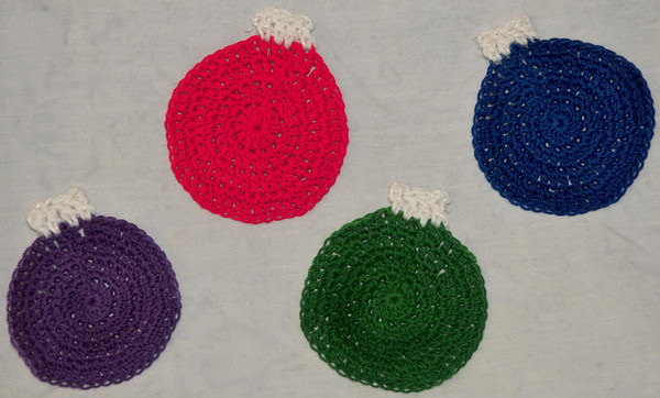 Christmas Ball Ornaments made from Turkey Body instructions