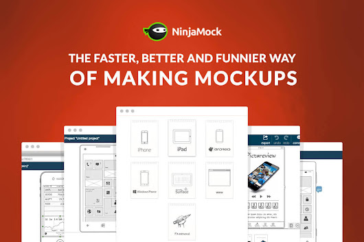 Create Mockups and Wireframes in Minutes with NinjaMock - only $29!