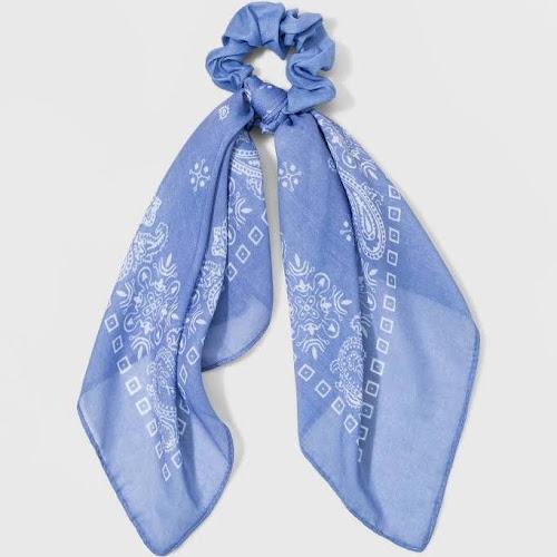 Multi Use Scarf Chiffon Twister - Wild Fable Blue