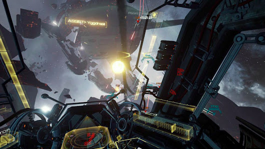 Come watch an amazing EVE: Valkyrie trailer, 'filmed' in virtual reality