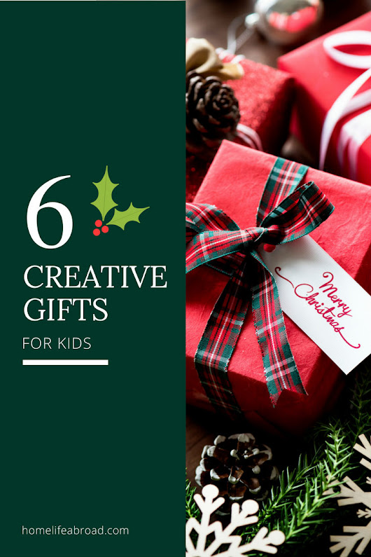 Original Gifts for Creative Kids